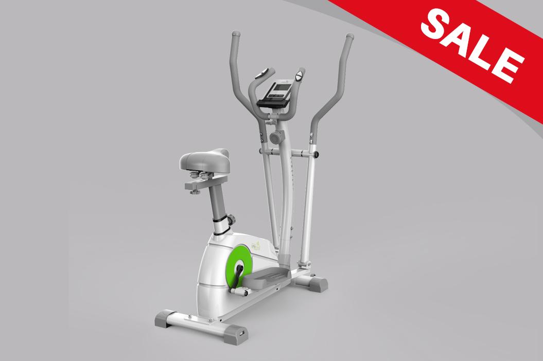 LMP-1001 Elliptical Cross Trainer & Cycling Machine (White)
