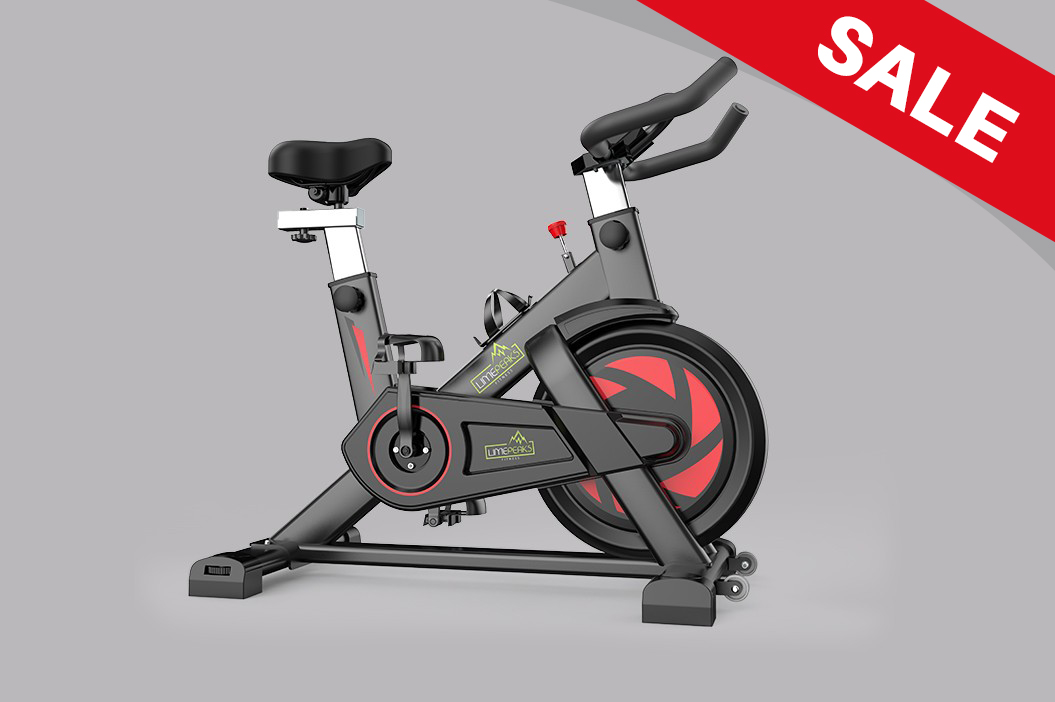 LMP-720 (Black) Indoor Exercise Spinning Cycling Bike