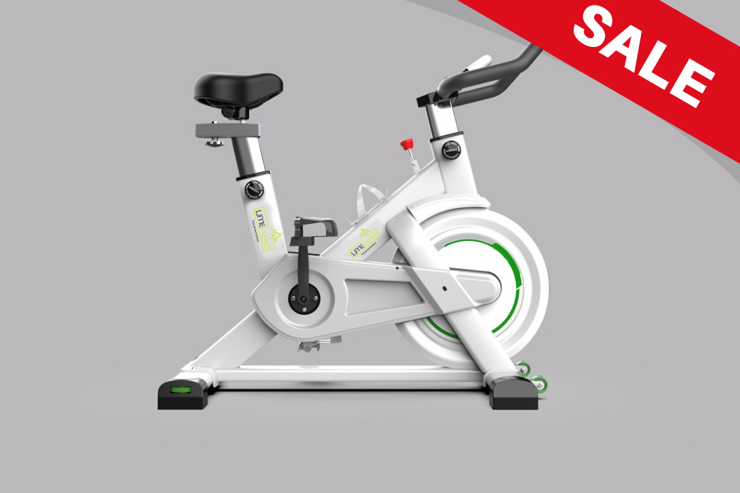 LMP-720 (White) Indoor Exercise Spinning Cycling