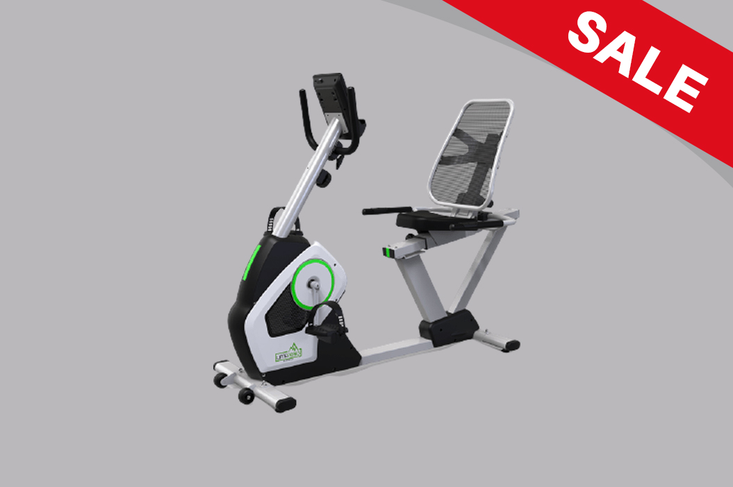 LMP-Q130 Robust Mechanical Indoor Recumbent Exercise Bike